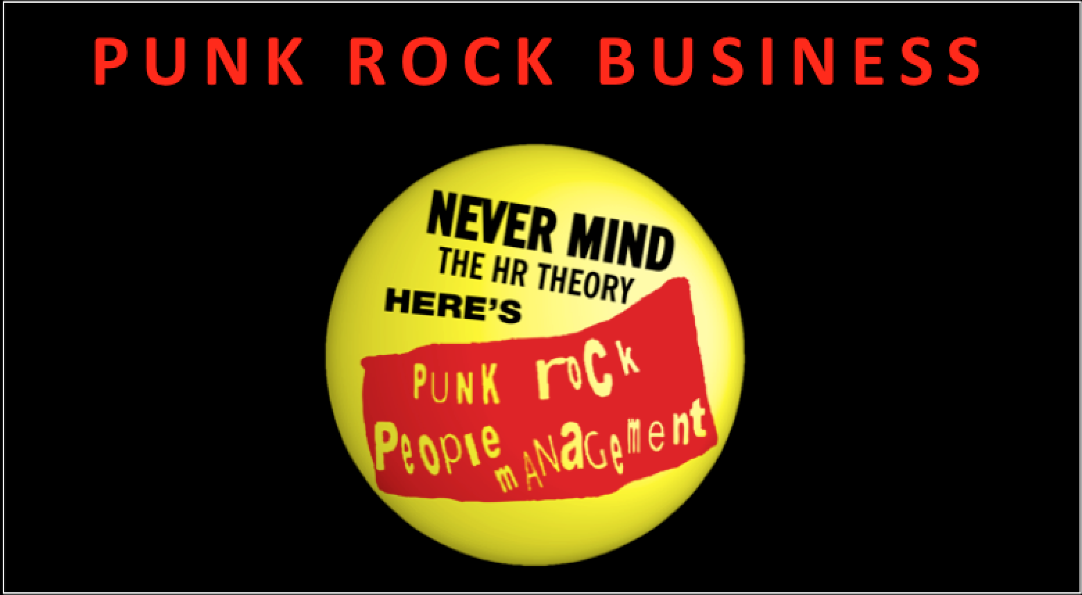 Punk Rock Business