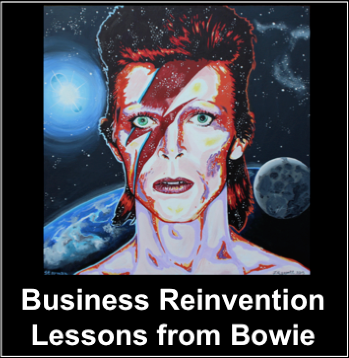 David Bowie article, creativity, innovation