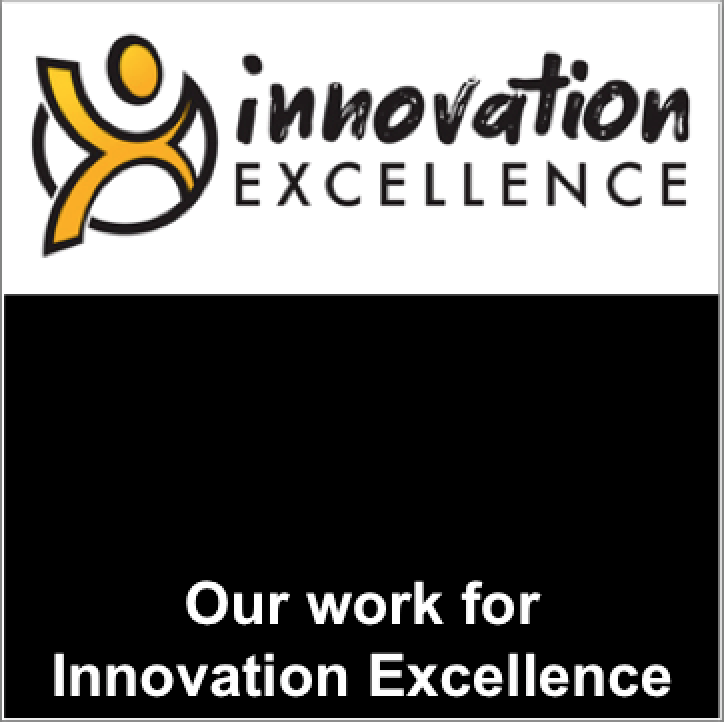 Our work for Innovation Excellence