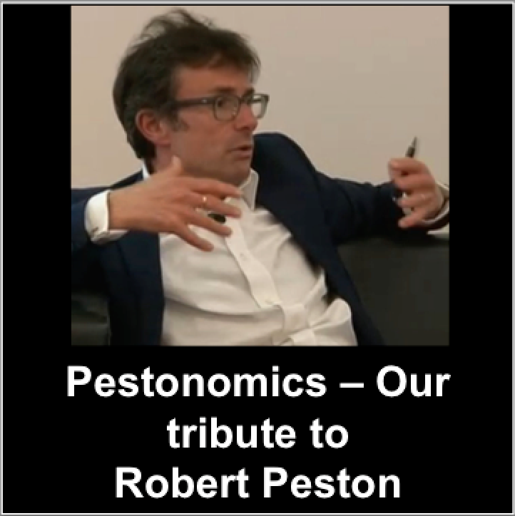 Pestonomics, Robert Peston
