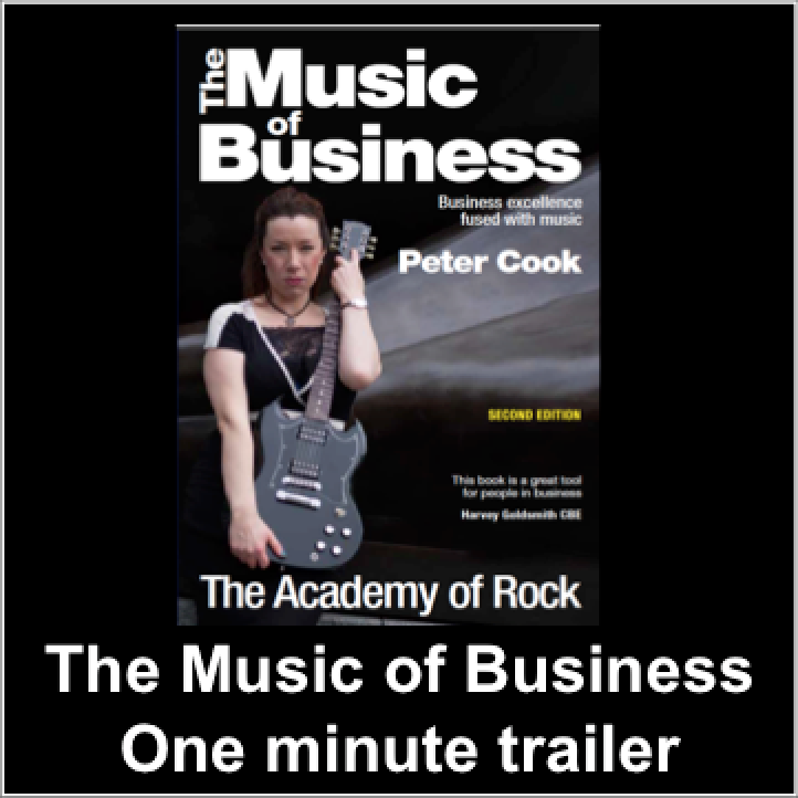 The Music of Business Book trailer